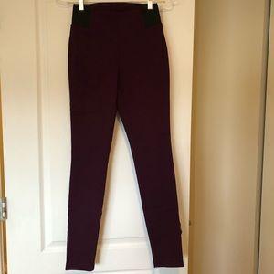 NWOT Purple Ricki's Microtwill Leggings